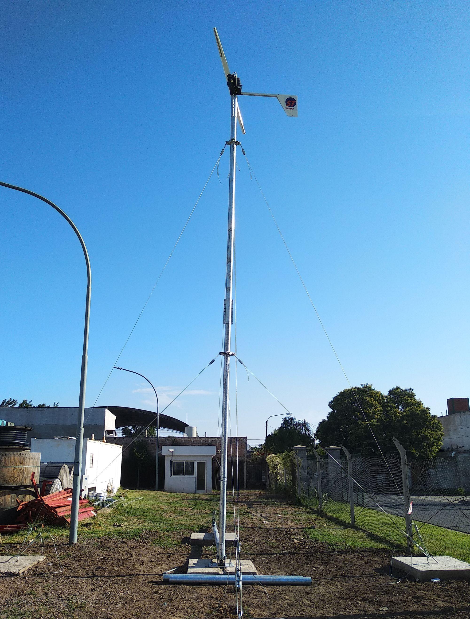 Instalación de aerogenerador en Córdoba